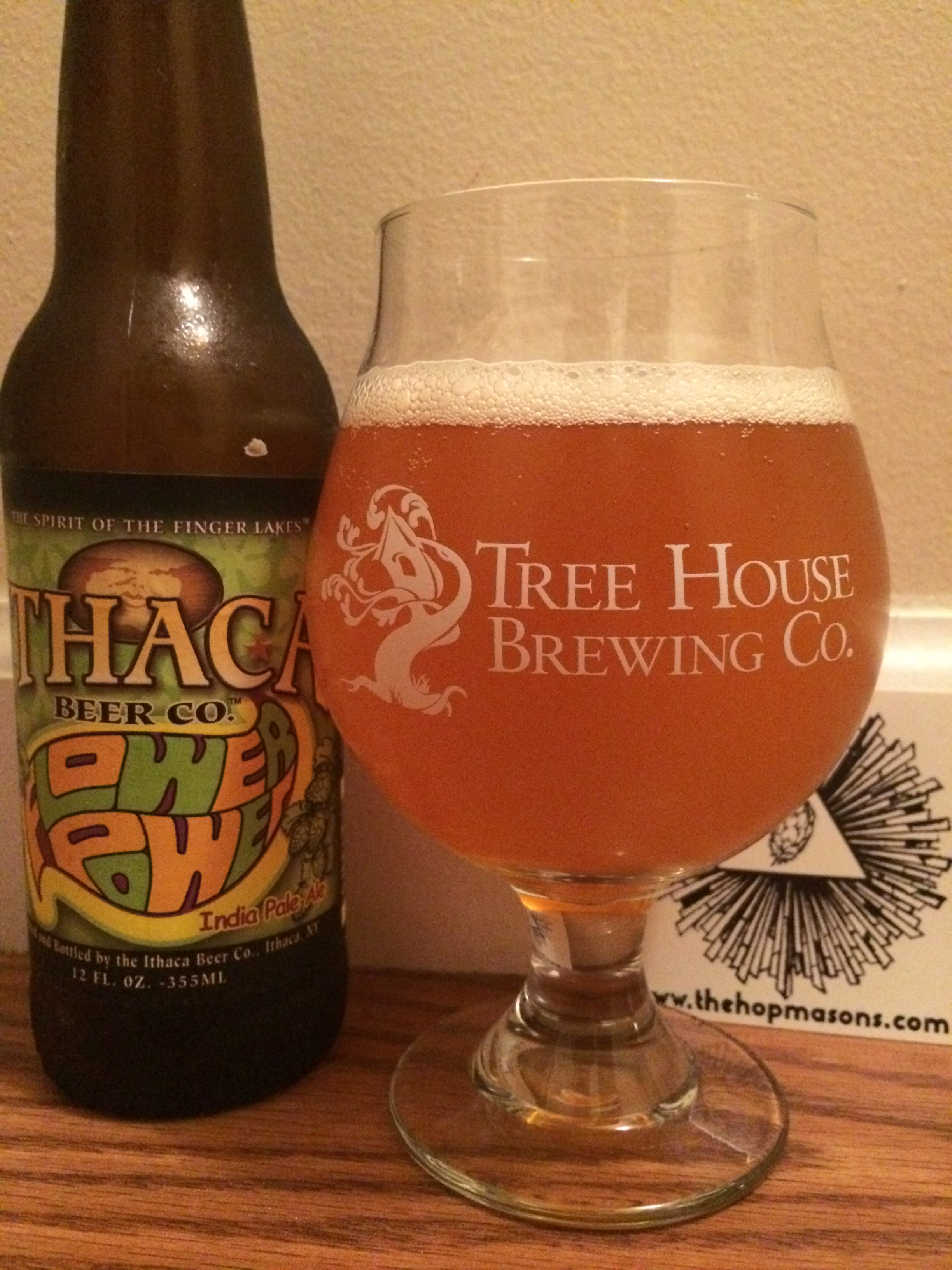Beer Review Ithaca's Flower Power IPA – The Hopmasons
